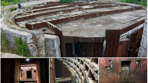 (foto) Buncărul sovietic din satul Olișcani, Șoldănești transformat în ruine