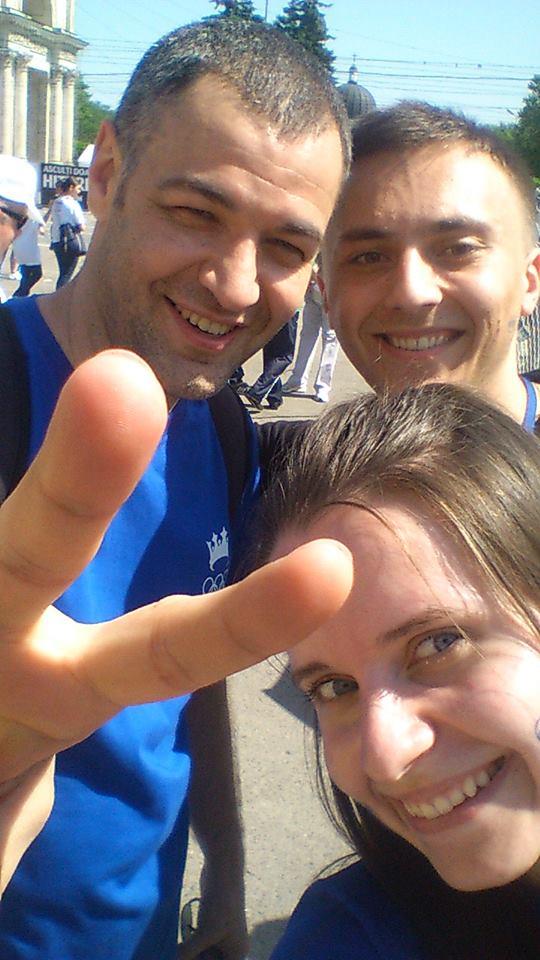 Selfie Olimpic cu Octavian Țîcu
