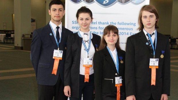 Liceenii moldoveni au fost premiați în cadrul competiției Intel ISEF 2014