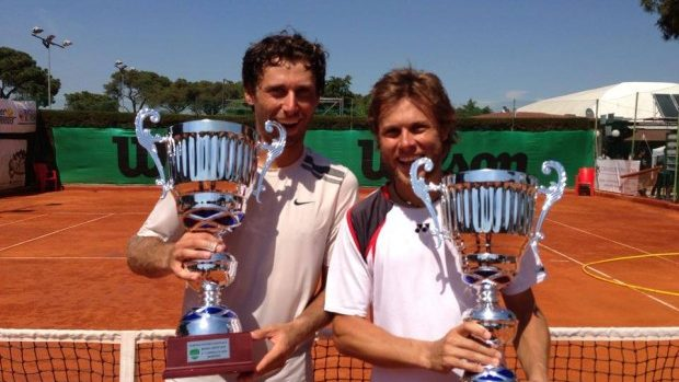 Radu Albot a câștigat Challenger-ul din Roma la proba de dublu