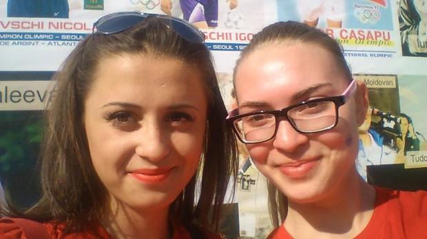 Selfie Olimpic cu Doina Cravcenco