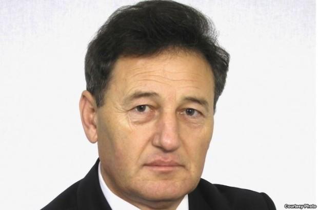 """Președintele Partidului """"Uniunea Muncii"""", Gheorghe Sima."""