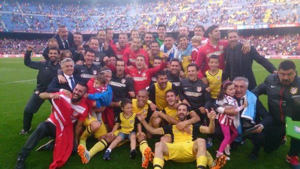 (foto, video) Atlético Madrid – campioana Spaniei după 18 ani