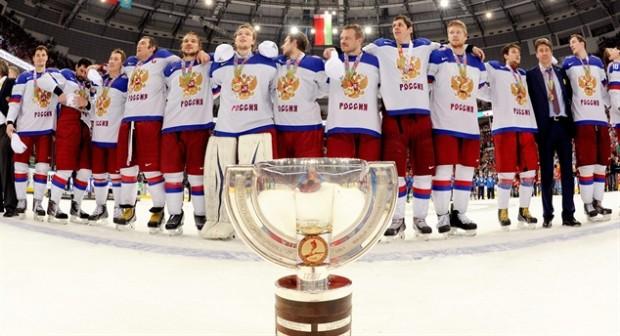 Rusia a câștigat titlul mondial la Hochei pe gheață din 2014