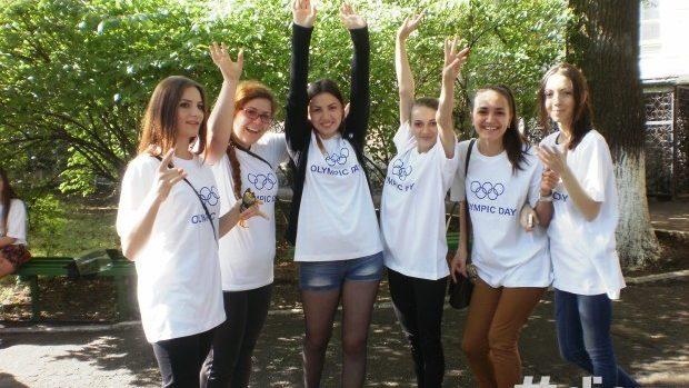 (foto) La Chișinău a fost marcată sărbătoarea sportului pentru toți – Olympic Fest 2014