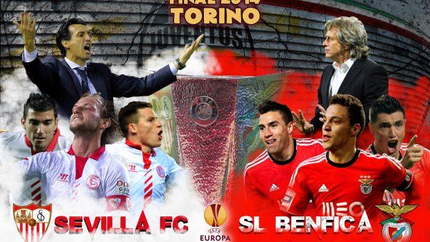 În această seară se joacă finala Europa League: Sevilla FC – SL Benfica