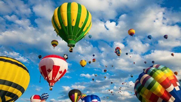 (foto, video) În Moldova a fost dat startul Festivalului Internațional al Baloanelor cu Aer Cald