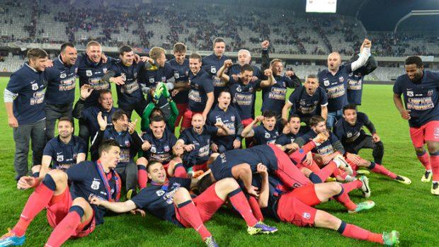 (foto) Cum a sărbătorit Steaua București al 25-lea titlu