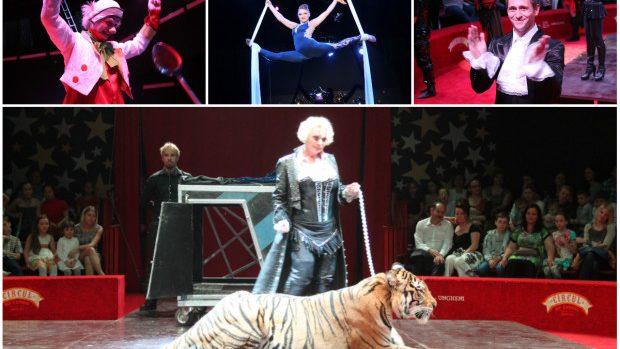 (foto) Spectacol grandios oferit la deschiderea Arenei Mici a Circului din Chișinău