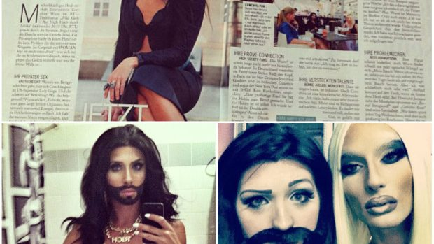 (foto) Cum arată profilul de Instagram al câștigătorului Eurovisionului, Conchita Wurst