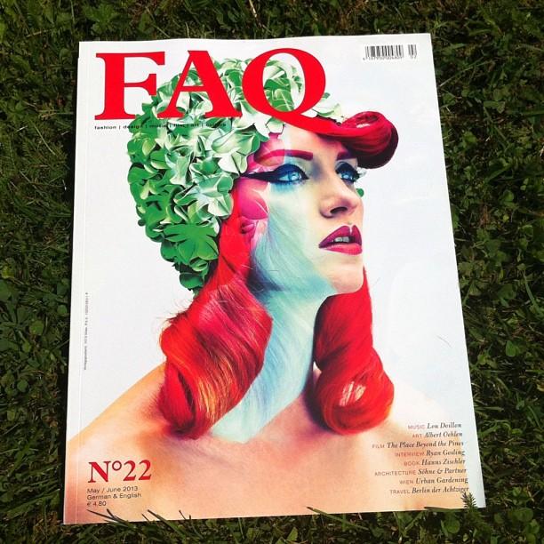 Conchita a ap[rut pe coperta unei reviste PC: instagram.com/@conchitawurst