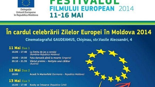 Agenda Festivalului Filmului European din perioada 11-16 mai