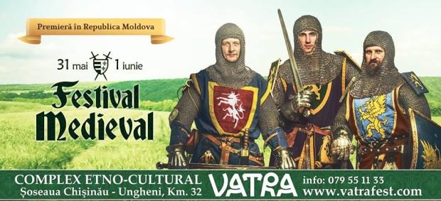 (video) Primul Festivalul Medieval din Moldova – pentru cei care preferă călătoriile în timp