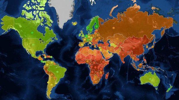 (foto) 17 hărți care nu ne sunt arătate la școală