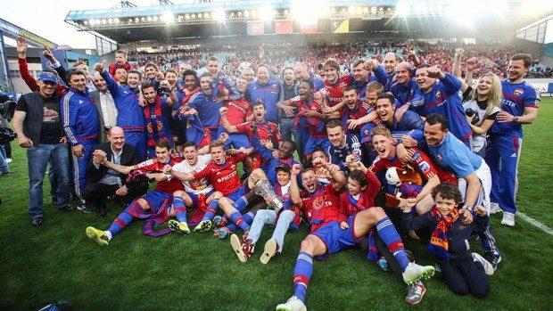 CSKA – campioana Rusiei pentru al doilea an consecutiv