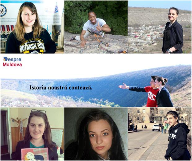 """Organizatorii proiectului """"Despre Moldova"""""""