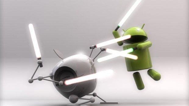 """Google și Apple declară armistițiu în """"Războiul Brevetelor"""""""