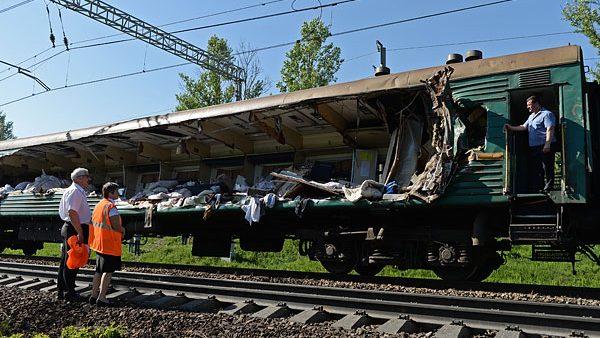 A fost stabilită cauza accidentului feroviar din Rusia