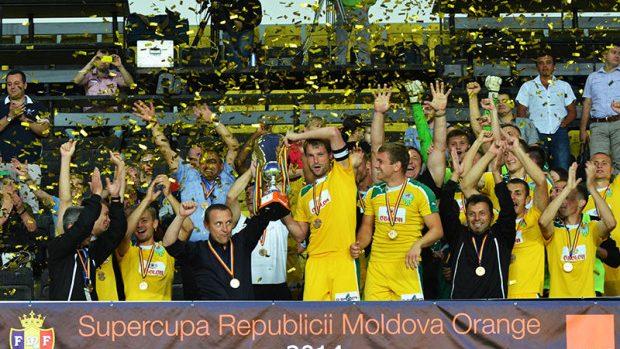 (foto, video) Zimbru Chișinău a câștigat pentru prima dată Supercupa Moldovei