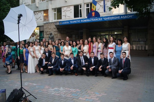 Absolvenții liceului Gheorghe Asachi