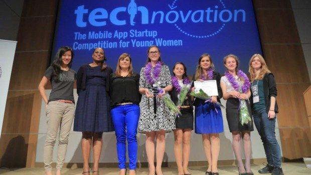 (foto) O echipă din Moldova a câștigat concursul de proiecte Technovation Challenge 2014