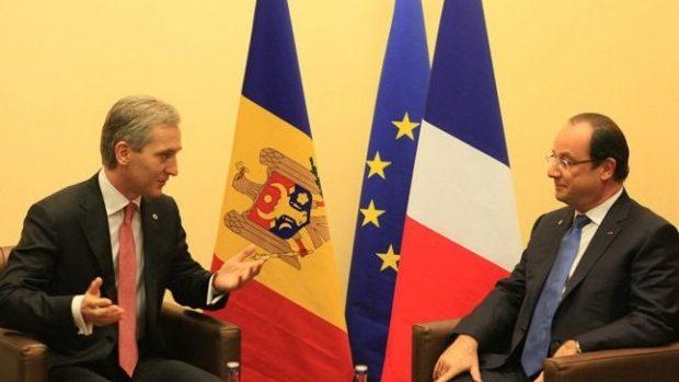 Premierul Leancă se va întâlni cu președintele Franței, François Hollande