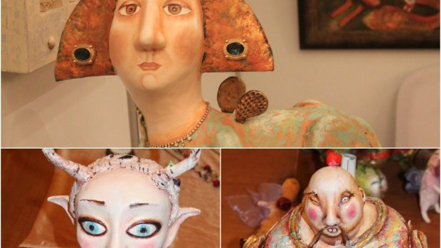 (foto) Cele mai neobișnuite sculpturi de la Night of Art 2014