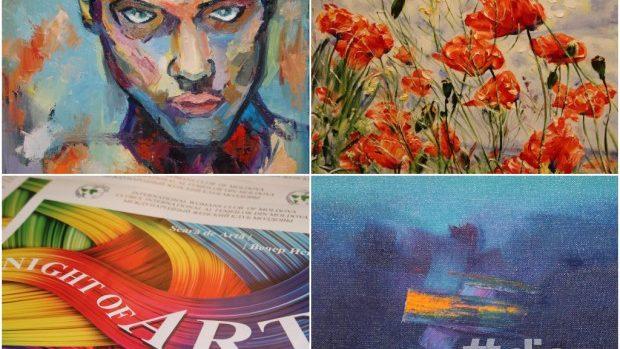 (foto) Top cele mai memorabile picturi de la Night of Art 2014