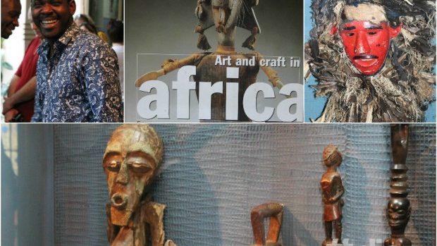 """(foto) Expoziția """"Arta africană"""" prezentată în premieră la Chișinău"""
