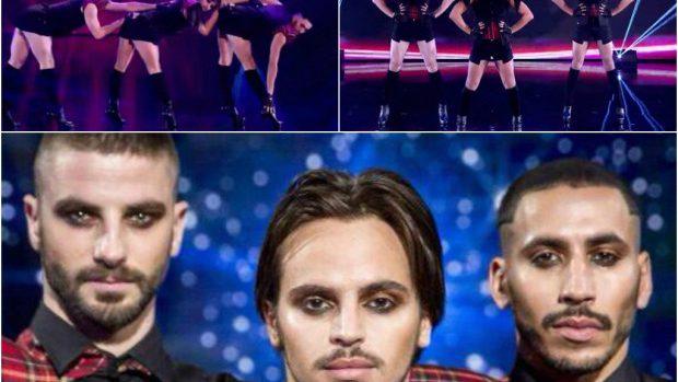 """(video) Trei tineri dansează sexy pe tocuri la """"Marea Britanie are Talent"""""""