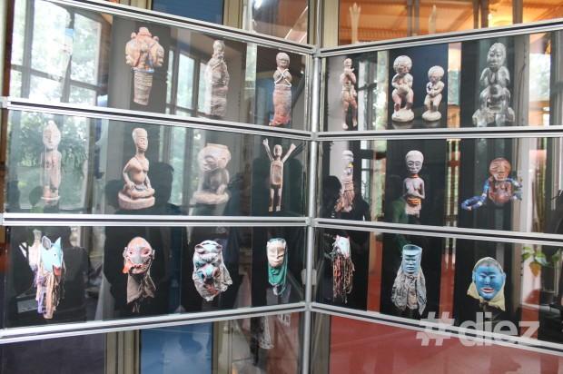 """Expoziția """"Arta africană"""" în premieră prezentată la Chișinău. PC: #diez/Eugenia Tataru"""