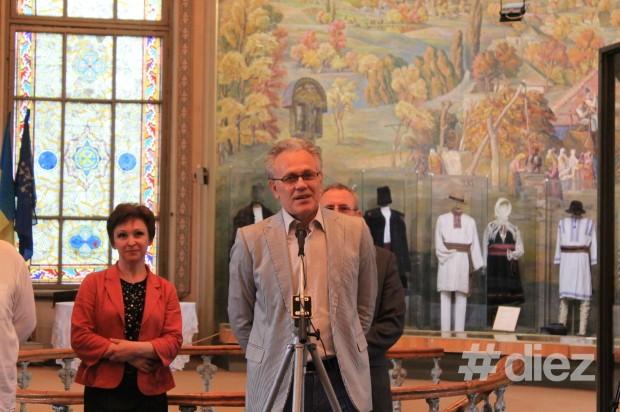 Tudor Zbârnea, directorul Muzeului Național de Artă al Republicii Moldova.