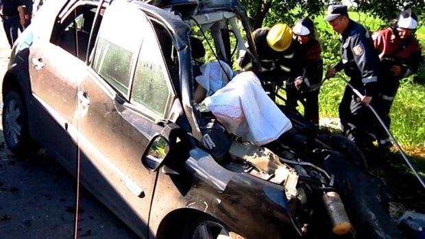 (video) Un tânăr de 20 de ani a decedat într-un accident rutier
