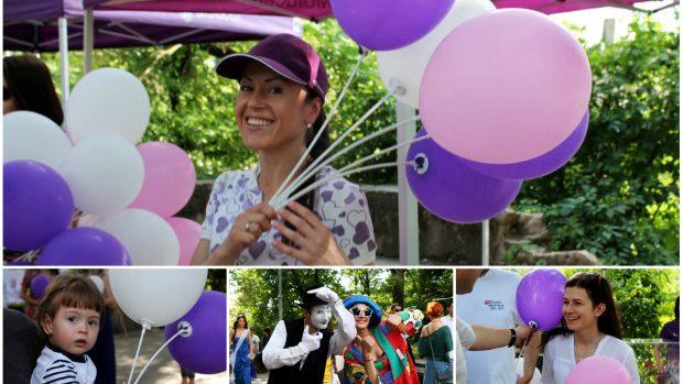 (foto) Marșul Vieții a adunat o sumă record pentru tratamentul copiilor grav bolnavi