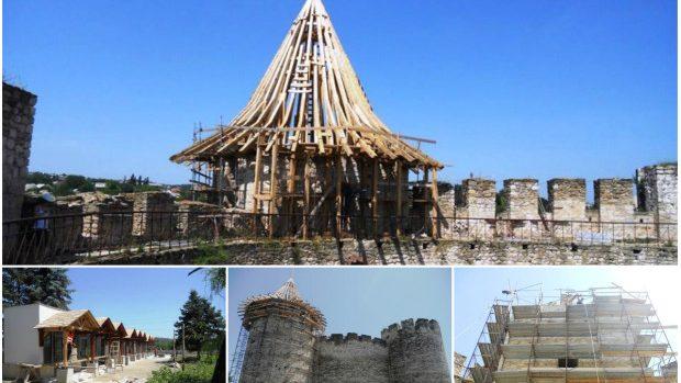 (foto) Lucrările de restaurare a Cetăţii Soroca vor continua până în 2015