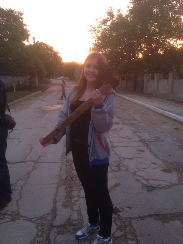 Participantă a excursiei PC: Anastasia Pociumban