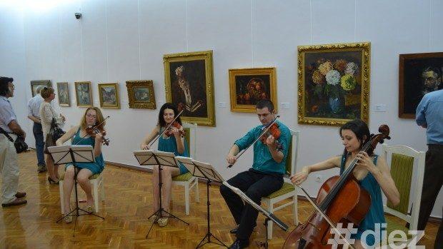 Expoziție de pictură românească la Muzeul Național de Artă al Moldovei