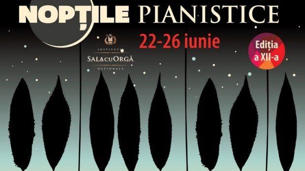 """Programul festivalului """"Nopțile pianistice 2014"""" din 22-26 iunie"""