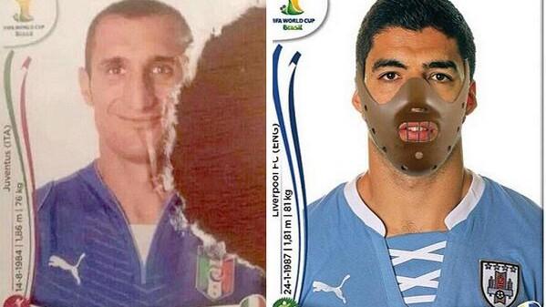 (foto) 30 cele mai interesante meme-uri cu Suárez după ce l-a mușcat pe Chiellini