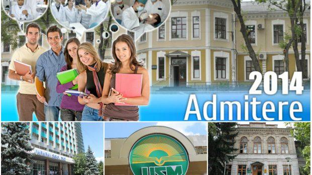 ADMITERE 2014: Lista universităților în care ai putea să-ți urmezi studiile de licență