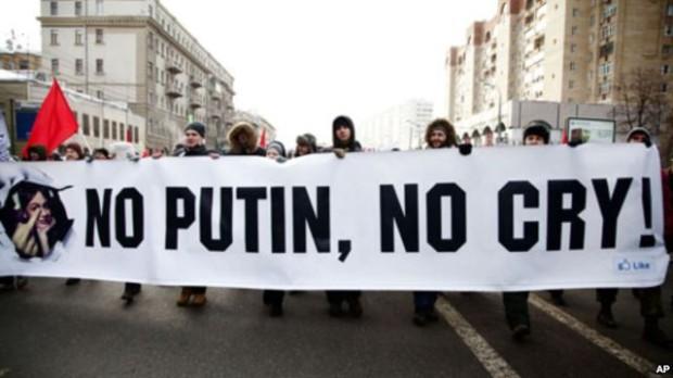 Putin a semnat legea ce interzice protestele în stradă