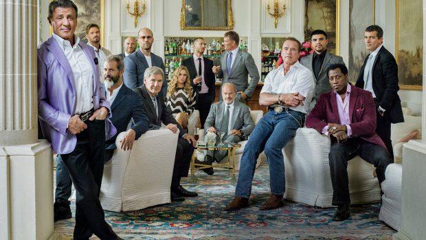 """(foto) Sesiune foto cu distribuția din """"The Expendables 3"""""""