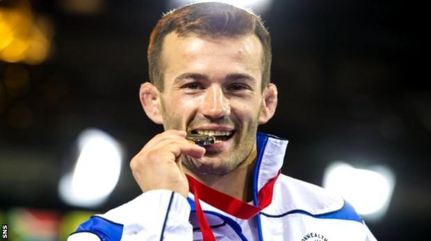 Un luptător moldovean a câștigat bronzul pentru Scoția, la Jocurile Commonwealth-ului