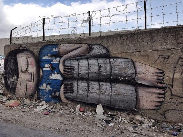 Arta stradală din Cisiordania, Betleem PC: earthporm.com