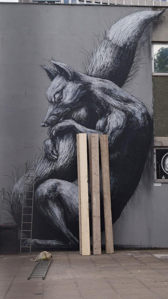 Arta stradală din Marea Britanie, Bristol PC: earthporm.com