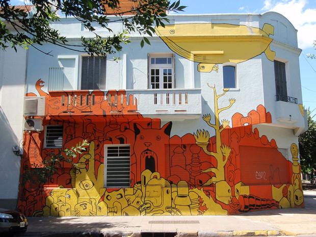 Arta stradală din Argentina, Buenos Aires PC: earthporm.com