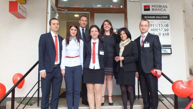 Studenții pot face un program de stagiere în cadrul Mobiasbanca-Groupe Société Générale