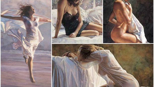 (foto) Senzualitate și feminitate transmise prin artă