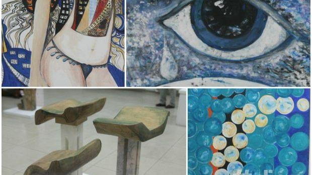 (foto) Expoziția de artă contemporană românească: Configuraţii Simbolice