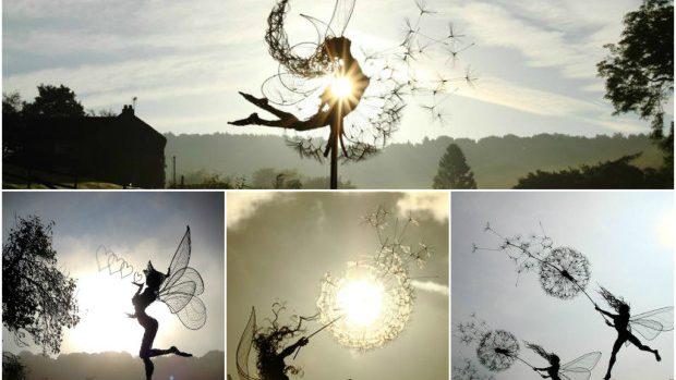 (foto) Sculpturile zeițelor dansând în adierea vântului